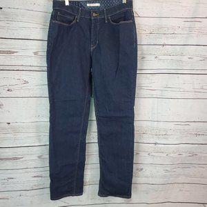 Levi's Perfect Waist 525 Straight Leg Jeans 12M